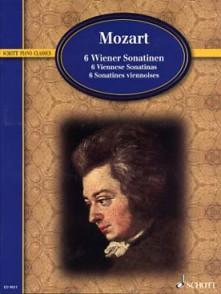 MOZART W.A. SONATINES VIENNOISES PIANO