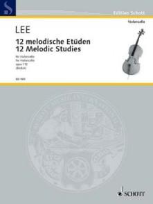 LEE S. 40 ETUDES MELODIQUES OP 113  VOL 1 VIOLONCELLE