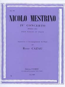 MESTRINO N. SOLO N°1 DU CONCERTO N°4 VIOLON