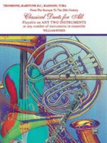 RYDEN W. CLASSICAL DUETS FOR ALL TROMBONES