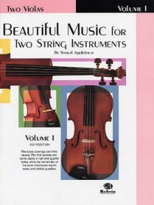 APPLEBAUM BEAUTIFUL MUSIC VOL 1 ALTOS
