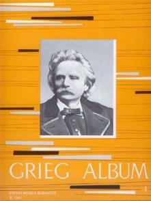 GRIEG E. ALBUM VOL 1 PIANO