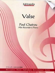 CHATROU P. VALSE FLUTE A BEC ALTO