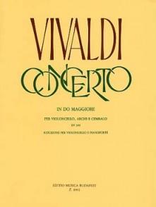 VIVALDI A. CONCERTO DO MAJEUR VIOLONCELLE