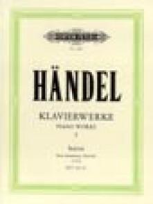 HAENDEL G.F. KLAVIERSUITEN LONDON 1720 PIANO