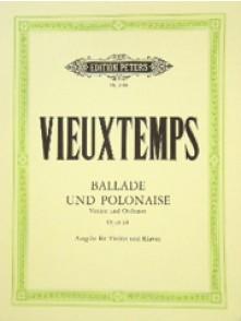 VIEUXTEMPS H. BALLADE ET POLONAISE OP 38 VIOLON