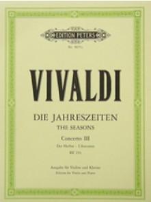 VIVALDI A. CONCERTO L'AUTOMNE OP 8 N°3  VIOLON