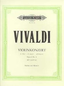 VIVALDI A. CONCERTO OP 3 N°3 VIOLON