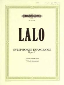 LALO E. SYMPHONIE ESPAGNOLE OP 21 VIOLON