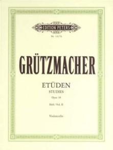 GRUTZMACHER 24 ETUDES OPUS 38 VOL 2 VIOLONCELLE