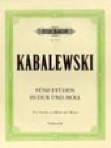 KABALEVSKI D. STUDIES OP 67 VIOLONCELLE
