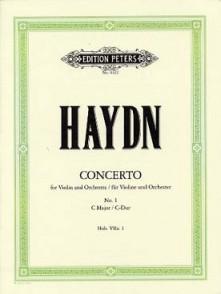 HAYDN J. CONCERTO HOB VIIA:1 DO MAJEUR VIOLON