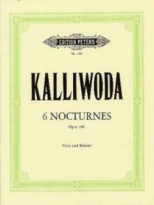 KALLIWODA J.W. NOCTURNES OP 186 ALTO