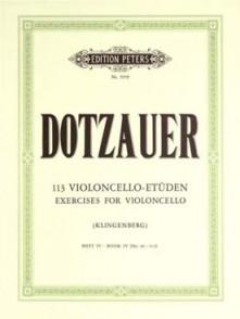 DOTZAUER 113 ETUDES VOL 4 VIOLONCELLE
