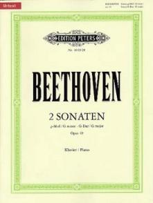 BEETHOVEN L.V. SONATE N°19 ET 20 OP 49 PIANO