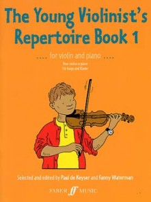 KEYSER (DE) P. THE YOUNG VIOLINIST'S REPERTOIRE BOOK 1