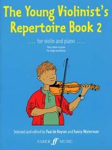 KEYSER (DE) P. THE YOUNG VIOLINIST'S REPERTOIRE BOOK 2