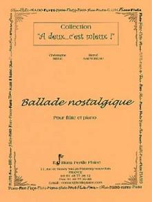 MEGE C./SAUTEREAU H. BALLADE NOSTALGIQUE FLUTE
