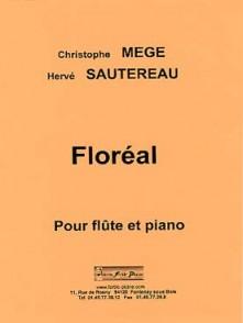 MEGE C./SAUTEREAU H.  FLOREAL FLUTE