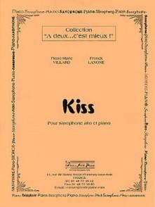 VILLARD P.M./LANONE F. KISS SAXOPHONE ALTO