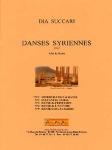 SUCCARI D. DANSES SYRIENNES VOL 1 ALTO