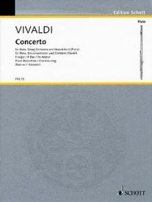 VIVALDI A. CONCERTO OP 10/1 FLUTE