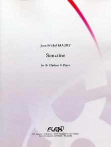 MAURY J.M. SONATINE CLARINETTE