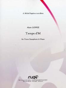LOPEZ A. TEMPS D'M SAXO TENOR