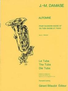 DAMASE J.M. AUTOMNE TUBA/SAXHORN/EUPHONIUM