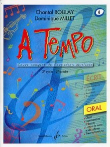 BOULAY C./MILLET D. A TEMPO VOL 6 ORAL