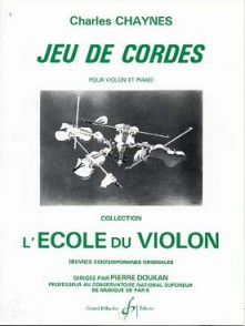 CHAYNES C. JEU DE CORDES VIOLON