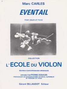 CARLES M. EVENTAIL VIOLON