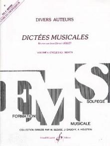 JOLLET J.C. DICTEES MUSICALES VOL 4 PROF