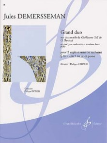 DEMERSSEMAN J. GRAND DUO 2 EUPHONIUMS