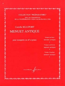 BEAUFORT C. MENUET ANTIQUE TROMPETTE