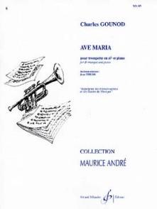 GOUNOD C. AVE MARIA TROMPETTE