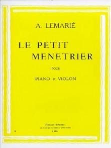 LEMARIE A. LE PETIT MENETRIER VIOLON