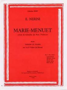 NERINI P.E. MARIE-MENUET VIOLON