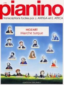 MOZART W.A. MARCHE TURQUE PIANO