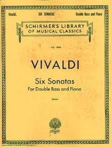 VIVALDI A. SONATAS CONTREBASSE