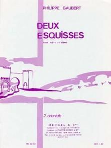 GAUBERT P. ESQUISSE N°2 ORIENTALE FLUTE