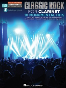 EASY INSTRUMENTAL PLAY-ALONG: CLASSIC ROCK CLARINETTE