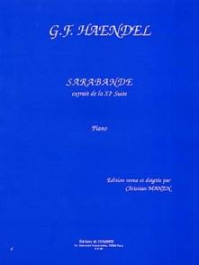 HAENDEL G.F. SARABANDE PIANO
