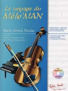 NICOLAS M.A. LE VOYAGE DU MELO'MAN VIOLON