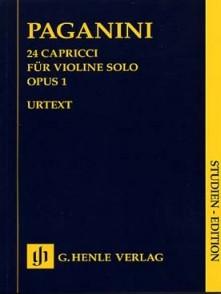 PAGANINI N. CAPRICES OP 1 VIOLON SOLO