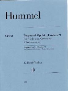 HUMMEL J.N. POTPOURRI OP 94 ALTO