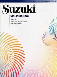SUZUKI VIOLIN SCHOOL VOL 2 ACCOMPAGNEMENT PIANO