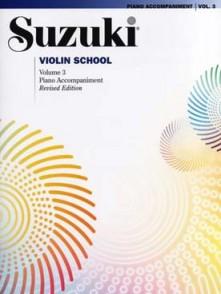 SUZUKI VIOLIN SCHOOL VOL 3 ACCOMPAGNEMENT PIANO