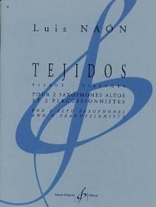 NAON L. TEJIDOS 2 SAXOPHONES ALTOS