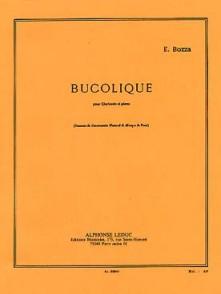 BOZZA E. BUCOLIQUE CLARINETTE